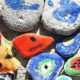 Prints on pebbles
